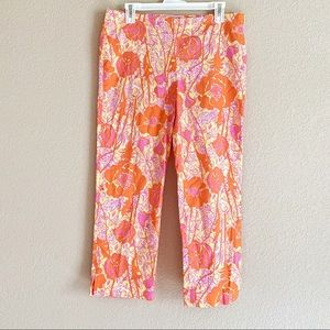 Lilly Pulitzer Resort Fit Crop Pant Floral